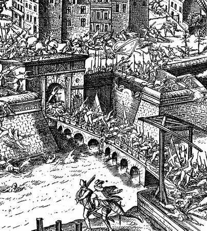 Slag om Antwerpen, Farnese, 1585