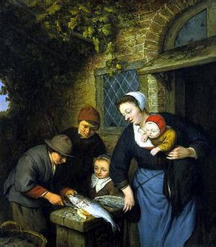 De visverkoper, Van Ostade
